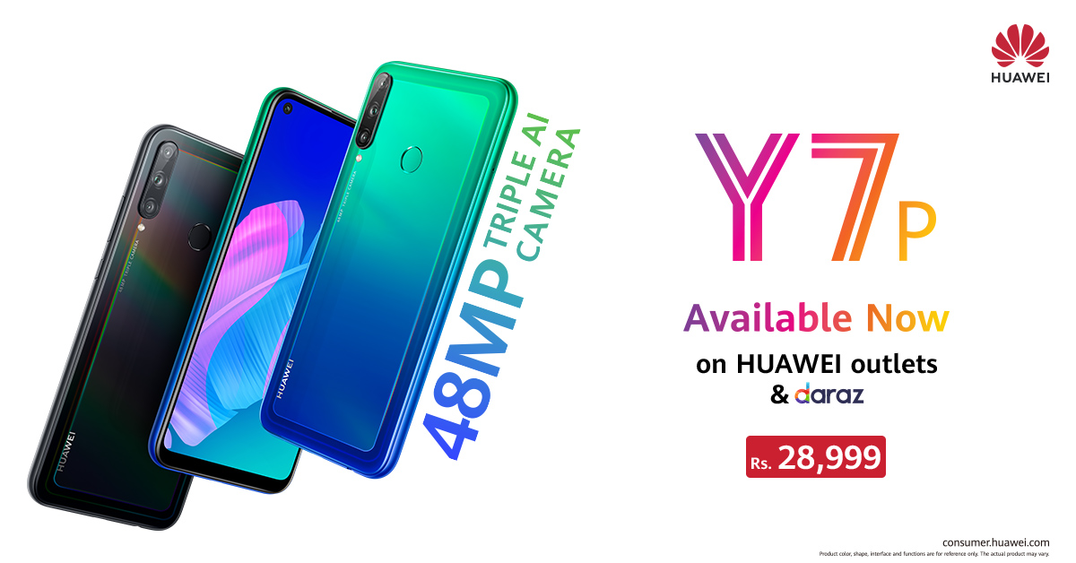 HUAWEI Y7p Launches in Pakistan to Resounding Market Anticipation