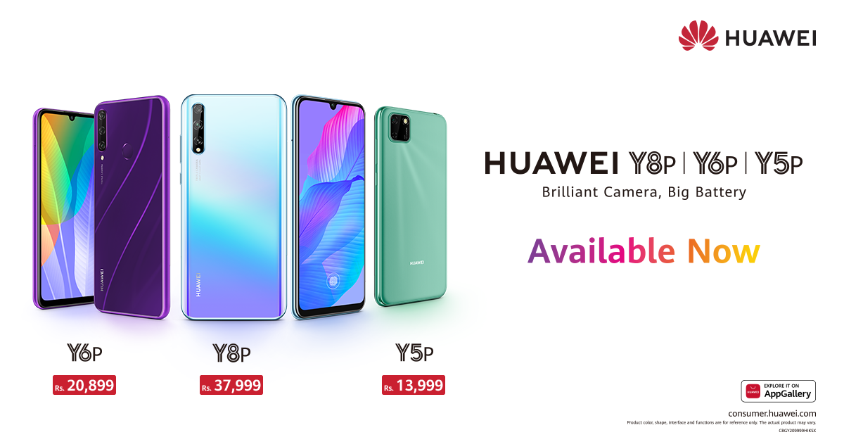 HUAWEI Y6p and HUAWEI Y8p are ready to Rock the Stage After A Highly Successful Pre-order Phase, HUAWEI Y6p & HUAWEI Y8p Made Available