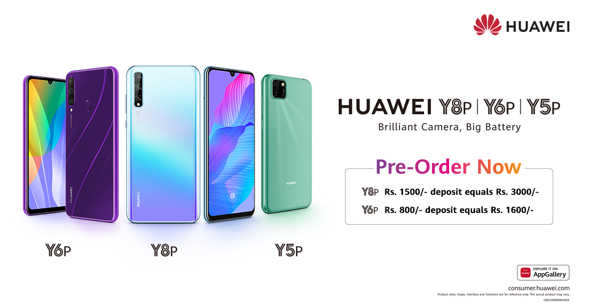 Huawei Pumps-up its Y Series with the new HUAWEI Y6p and HUAWEI Y8p Two New Entrants of Huawei Y Series HUAWEI Y6p and HUAWEI Y8p Open for Pre-orders HUAWEI Brings Yet another Exciting Y Series Line-up with HUAWEI Y6p and HUAWEI Y8p