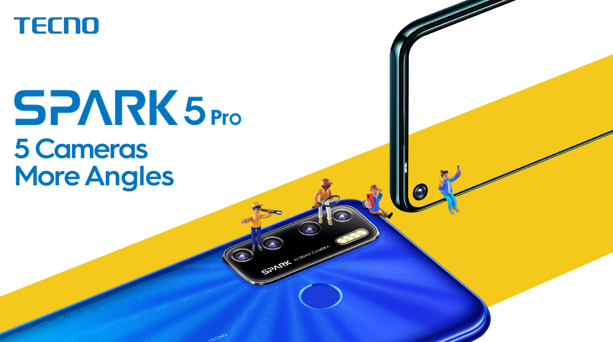 """"""" Discounted Spark 5 Pro: TECNO's Pre-Hype Offer for DARAZ """"Mobile Week""""."""