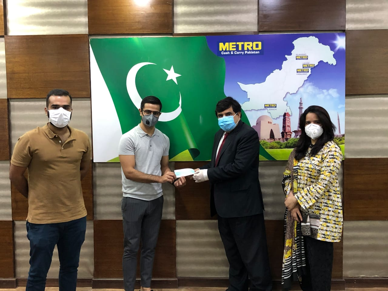 METRO PAKISTAN INITIATES MADADGAR PROGRAMME WITH AKHUWAT FOUNDATION