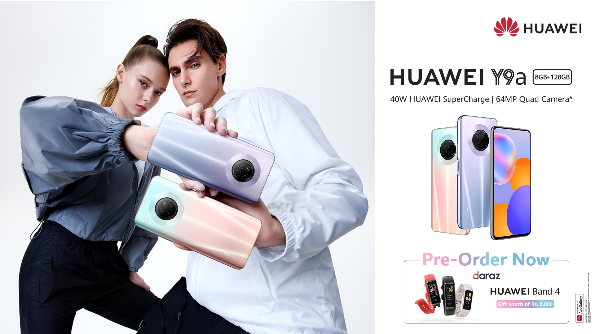 HUAWEI Y Series Hit a New High with the Midrange King HUAWEI Y9a – Now Open for Pre-orders