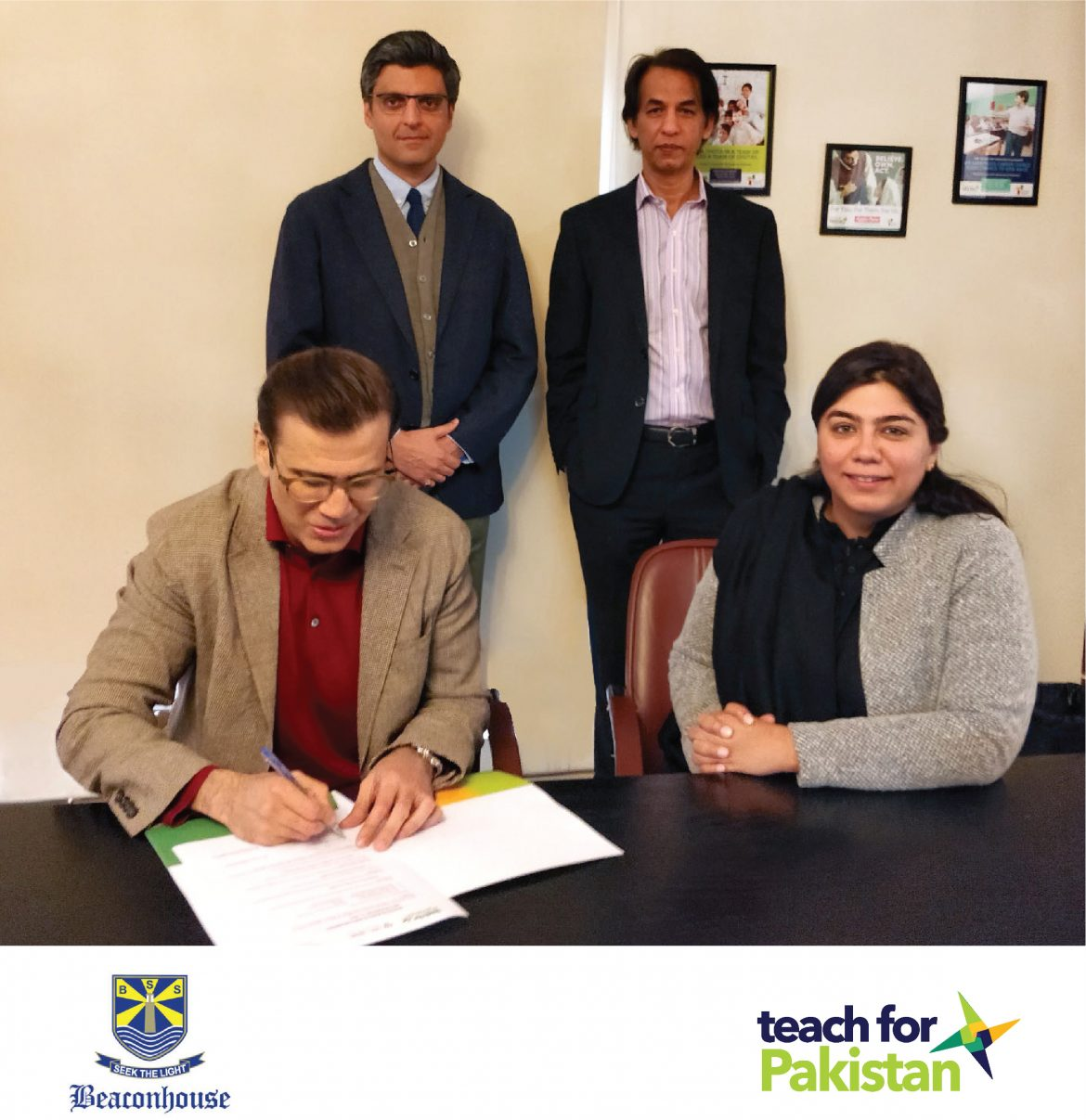 The Beaconhouse Group partners with Teach For Pakistan to strengthen the movement to end educational inequity.