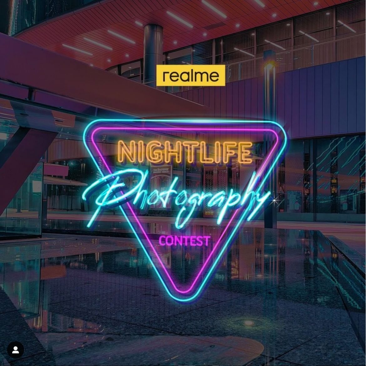 Join nightlife photography contest by realme to win realme 7 pro